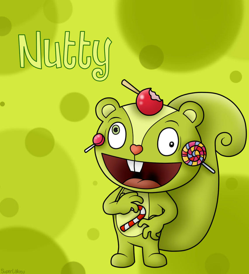 Happy Tree Friends: Nutty by SuperLakitu on DeviantArt