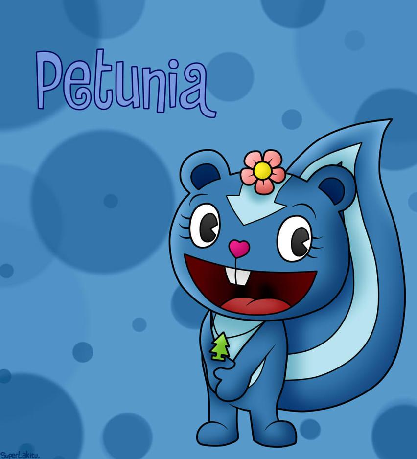 happy tree friends petunia by superlakitu on deviantart. Black Bedroom Furniture Sets. Home Design Ideas