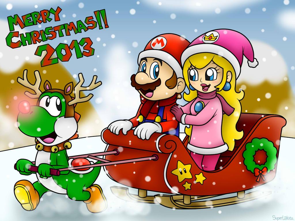Merry Christmas 2013!!....Again! xD by SuperLakitu on DeviantArt