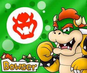 Gwhaahahahaaaa!! Bowser!! by BoxBird