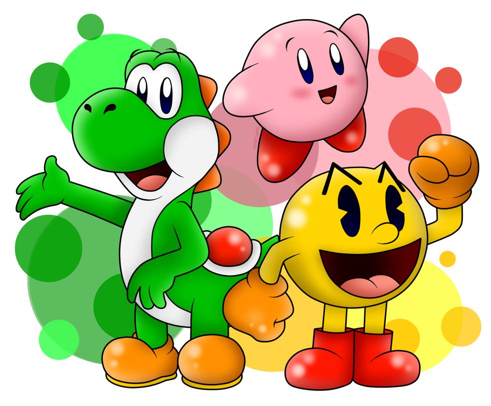 The most famous videogame devourers :v by SuperLakitu