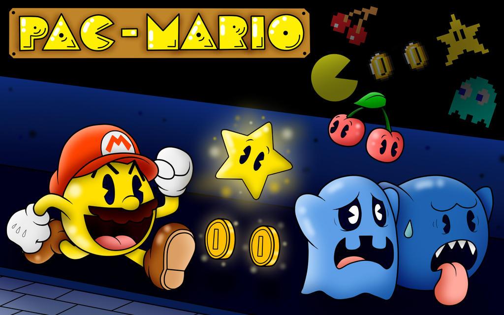 Pac-Mario by SuperLakitu