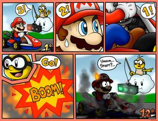 Random Mario Kart Comic by BoxBird