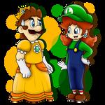 AT: Princess Luigi and Plumber Daisy