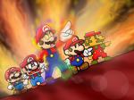 SSB Wii U/3DS: Mega Man Final Smash in Mario Style