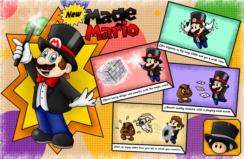 New Power-Up Idea: Mage Mario! by SuperLakitu
