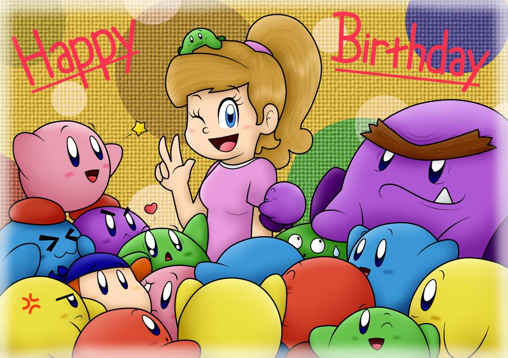 Happy Birthday Aubrey!! :D by SuperLakitu