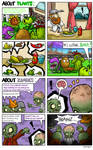 Something about plants and zombies...