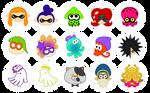 Splatoon Icons!