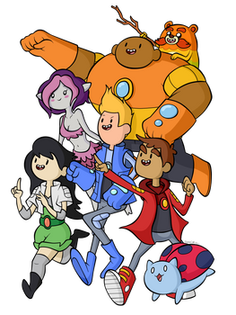 Here come the Bravest Warriors!