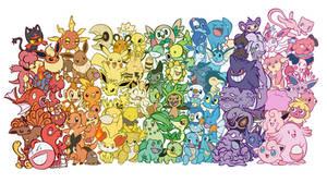 A colorful Poke-Rainbow!