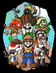 The Stupid Seven of the Mushroom Mesa
