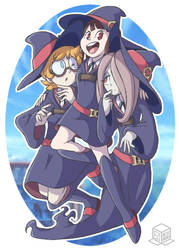 Three Little Witches by BoxBird