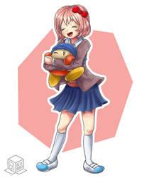 Commission: Sweet hugs!