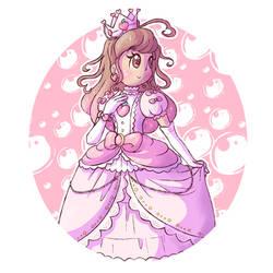 AT: A Pink Peachy Princess by BoxBird