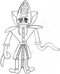 Kintu Pokkmar- Cephalid Planeswalker