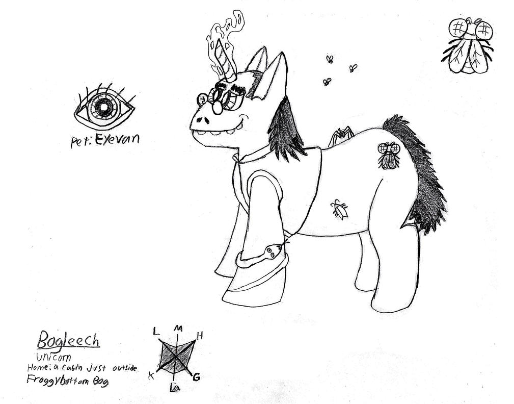 Bogleech Ponysona by coolclaytony