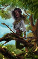 Female Archer by valdark2