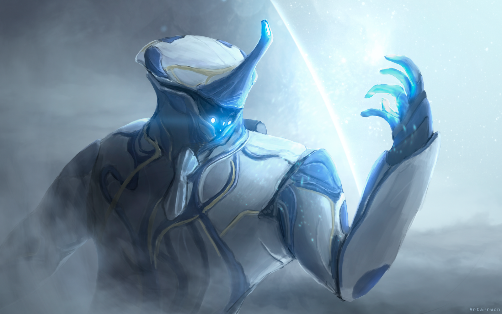 Frost warframe wallpaper