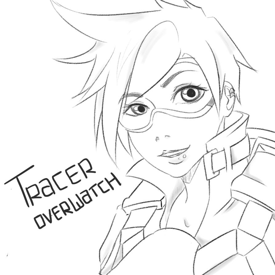 tracer overwatch by teasandspices on deviantart