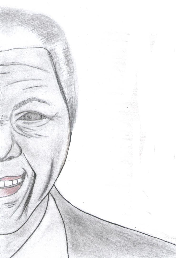 In Memoriam, Nelson Mandela by FelzLycia