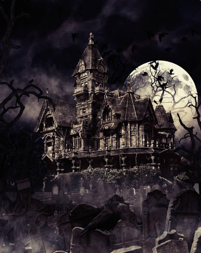 Haunting House by miralayhakan