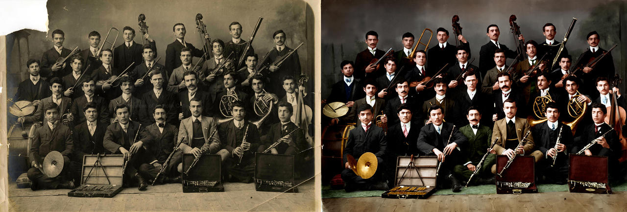 Anatolia College Orchestra, Merzifon c. 1909