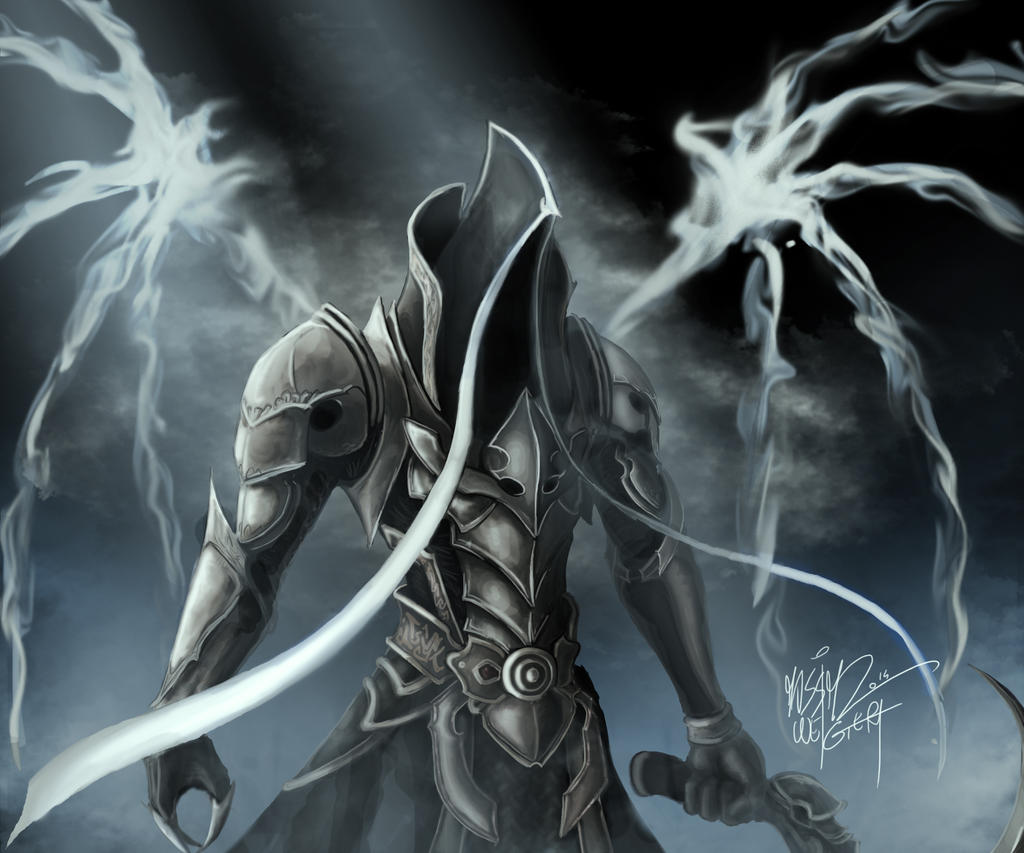 Diablo III - Malthael by Massimo-Weigert