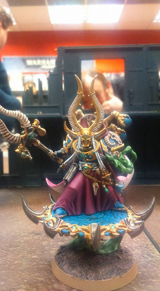 Project Thousand Sons: Ahriman~ by Saekhor