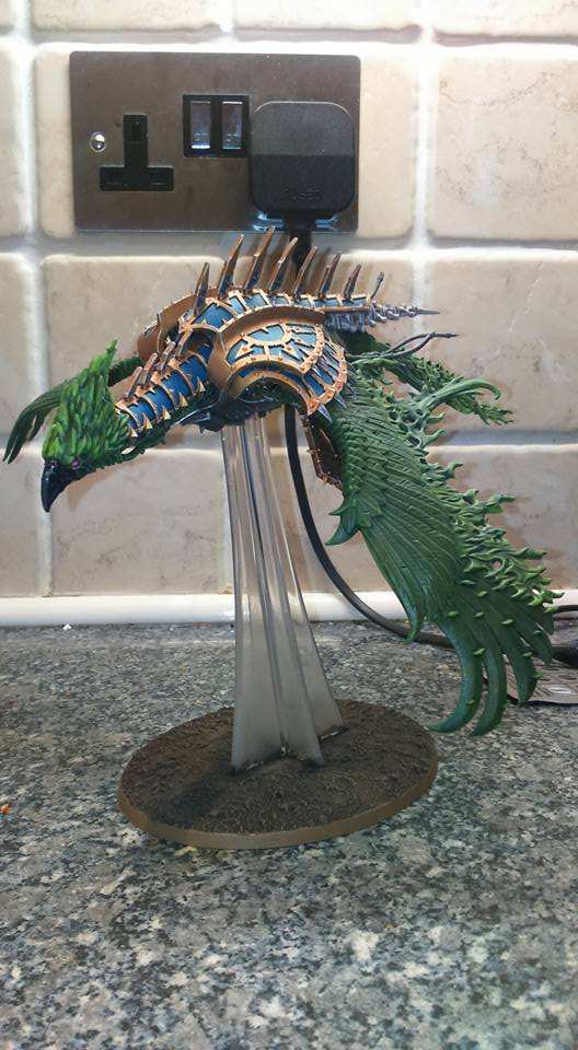 Project Thousand Sons: Heldrake by Saekhor
