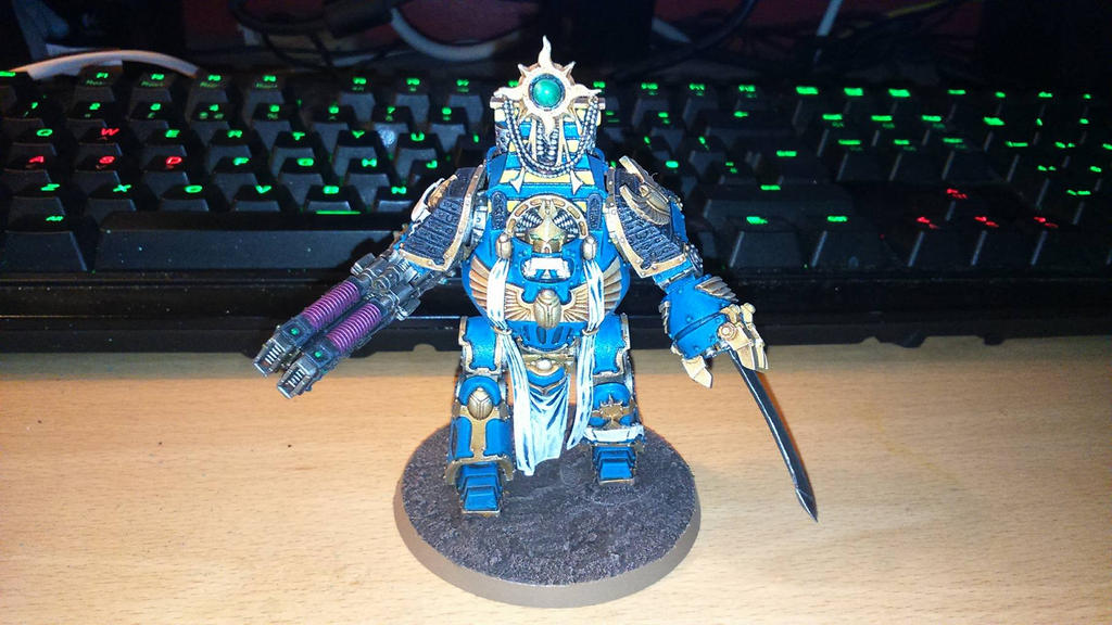 Project Thousand Sons: Hellforged Contemptor by Saekhor
