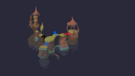 2014-10-26 Island Concept - Nighttime Version