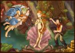 Deponia's Birth of Venus poster
