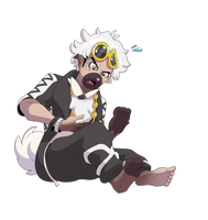 [AT] Guzma as Rockruff? by Nolhyaa
