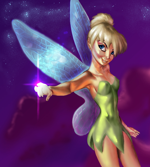 Tinkerbell by mallaard