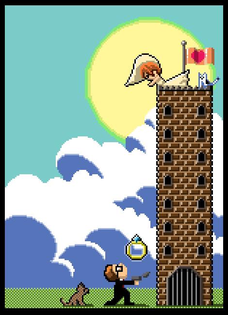 Pixel Castle by mallaard