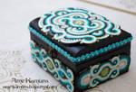 jewelry  box Soutache