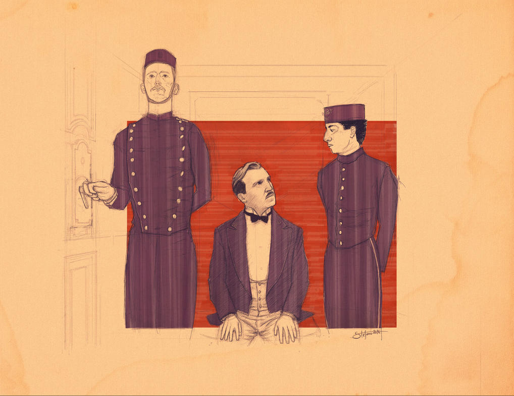 Grand Budapest Hotel Wallpaper: The Grand Budapest Hotel By Bs-stefano On DeviantArt