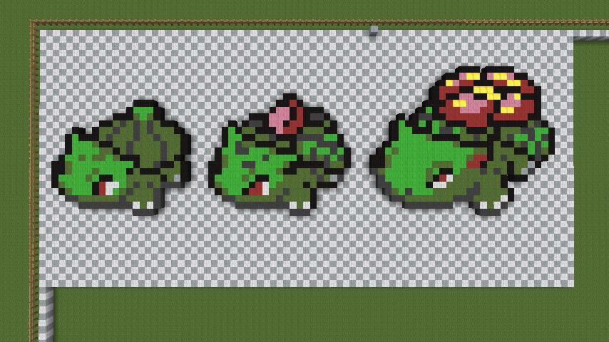 Pokemon related pixel art on minecraft pixelart deviantart - Pokemon logo minecraft ...