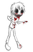 Zombie attack by Estyy