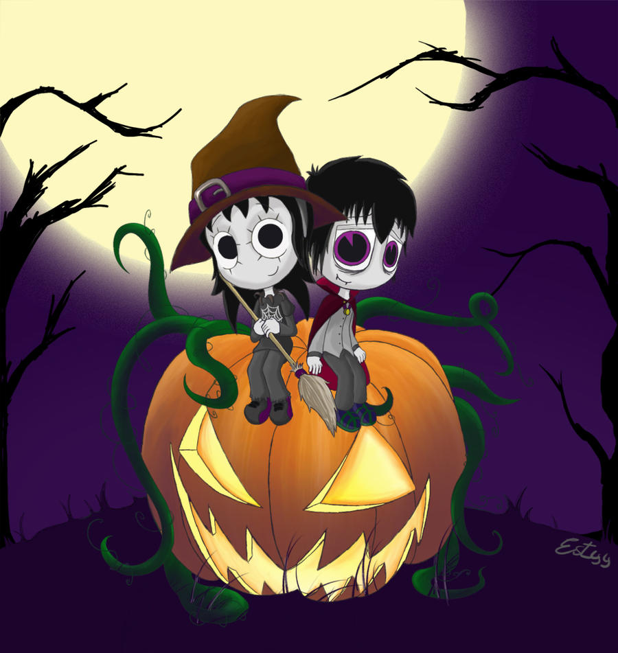 Be my Halloween by Estyy