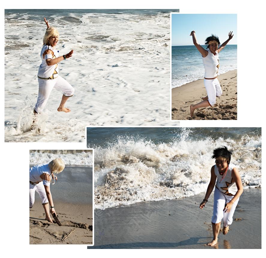 Day At The Beach By Da-rk On DeviantArt