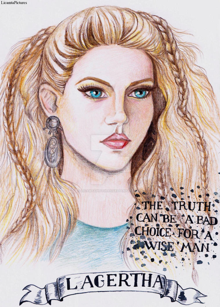 Day 28-Lagertha.Vikings by LicamtaPictures