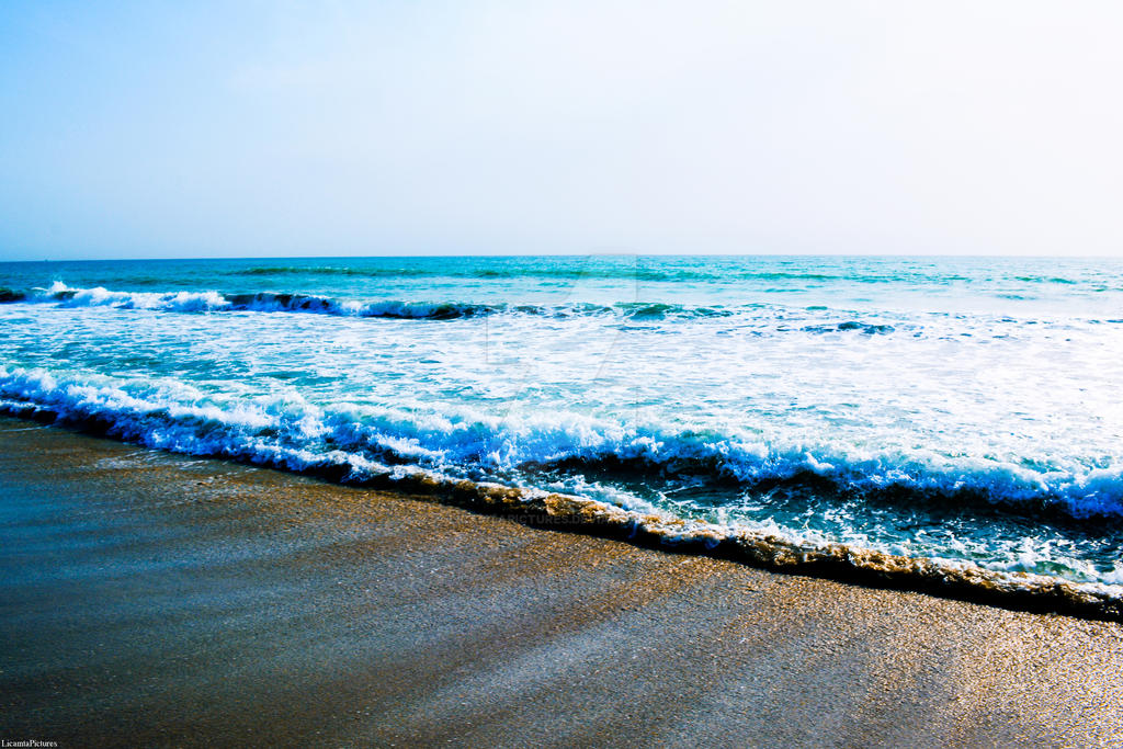 Evening at the Caspian Sea by LicamtaPictures