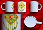 Mr14-Mug 14. Turkmen National Jewelry-Brooch2 by LicamtaPictures