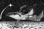 Inktober 2018 #12-Whale