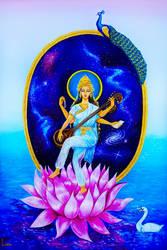 Saraswati by LicamtaPictures