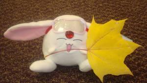 Mokona has a leaf