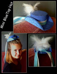 Mini Blue Hat by wildmage007