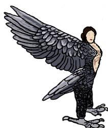 harpy cosplay sketch